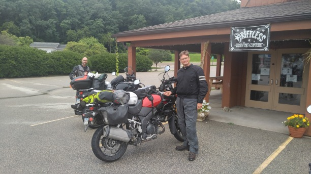 HC Brian and the VStrom