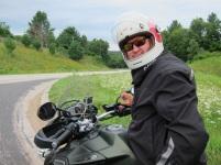 HC Dave riding the Triumph Tiger Explorer