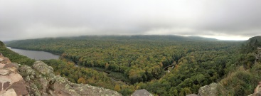 Lake of the Clouds overlook.
